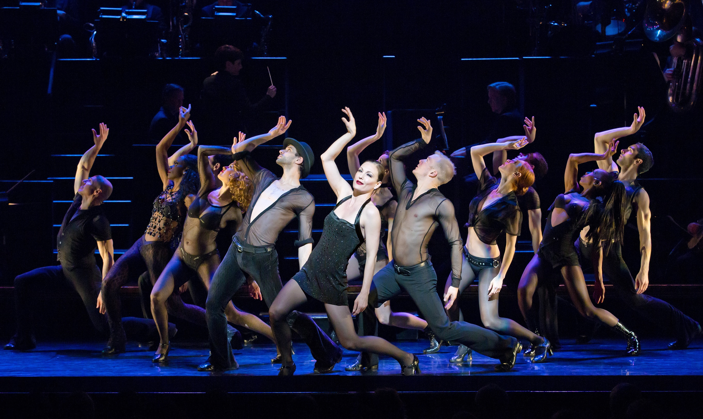 Terra MacLeod stars as Velma Kelly in the national touring production of 'Chicago.'