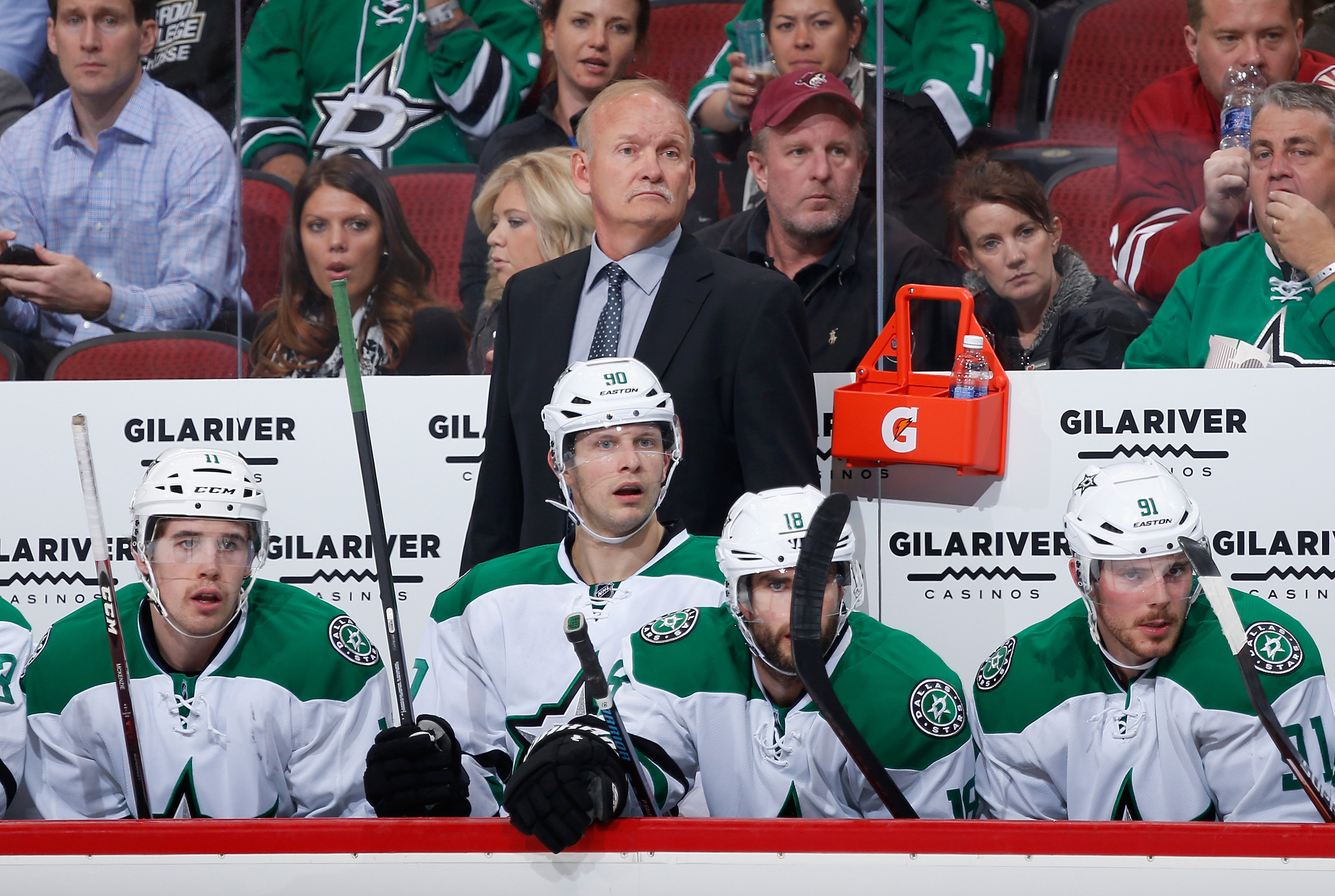 Lindy Ruff is back in town with the Dallas Stars (Getty Images).