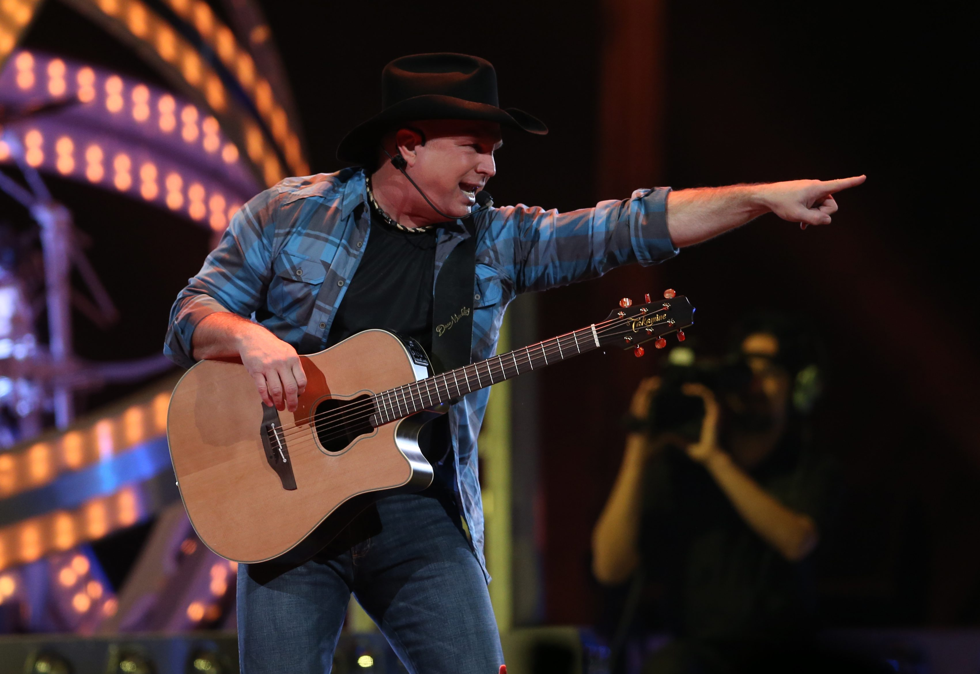Garth Brooks plays the first of six shows at First Niagara Center in Buffalo on March 5. (Sharon Cantillon/Buffalo News)