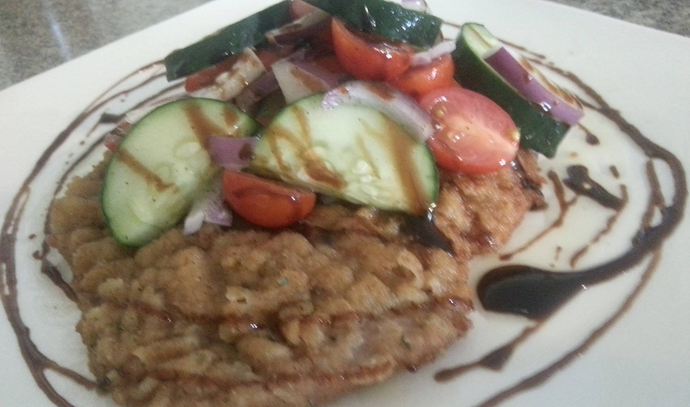 Veal Milanese from Cipollina in Akron.
