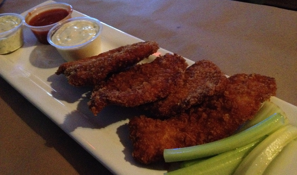 These chicken fingers from the Public House of Buffalo will also be on the menu for Public House on the Lake. (Andrew Galarneau/Special to the News)