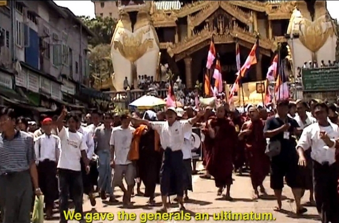 "Squeaky Wheel will screen the award-winning documentary ""Burma VJ"" on Saturday."