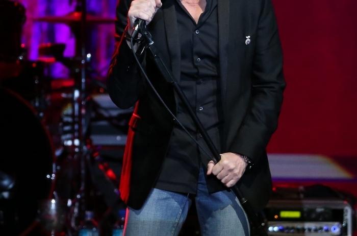Michael Bolton performs in concert at the Seneca Niagara Casino Events Center in Niagara Falls,  Saturday, March 21, 2015.  (Sharon Cantillon/Buffalo News) (Sharon Cantillon/Buffalo News)