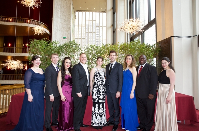 The 2015 National Council finalists, from left, Kathryn Henry, Joseph Dennis, Marina Costa-Jackson, Nicholas Brownlee, Virginie Verrez, Jared Bybee, Deniz Uzun, Reginald Smith  Jr. and Allegra De Vita.