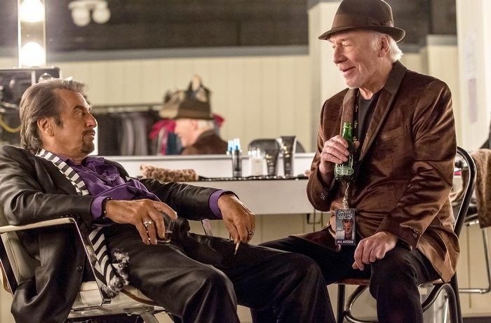 "(L-r) Al Pacino and Christopher Plummer star in ""Danny Collins."" Illustrates FILM-COLLINS (category e), by Stephanie Merry © 2015, The Washington Post. Moved Friday, March 27, 2015. (MUST CREDIT: Bleecker Street.)"