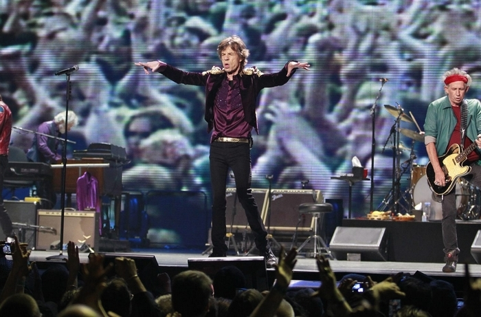 The Rolling Stones will perform July 11 at Ralph Wilson Stadium.  (Photo by Harry Scull Jr. / Buffalo News from Toronto show in 2013)