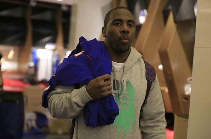 Whether running back C.J. Spiller returns to the Bills remains to be seen.Harry Scull Jr./Buffalo News