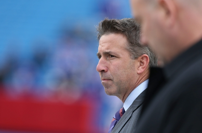 Bills President Russ Brandon says the club is proud to be part of the technological history being made when Buffalo's game against Jacksonville in London is streamed online to a worldwide audience.James P. McCoy/Buffalo News file photo
