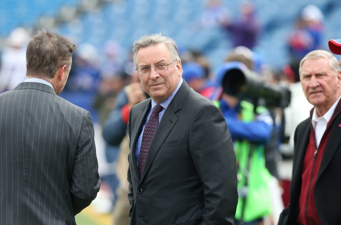 "Members of Bills hierarchy  ""like each other,"" work well together, Terry Pegula says. (James P. McCoy/ News file photo)"