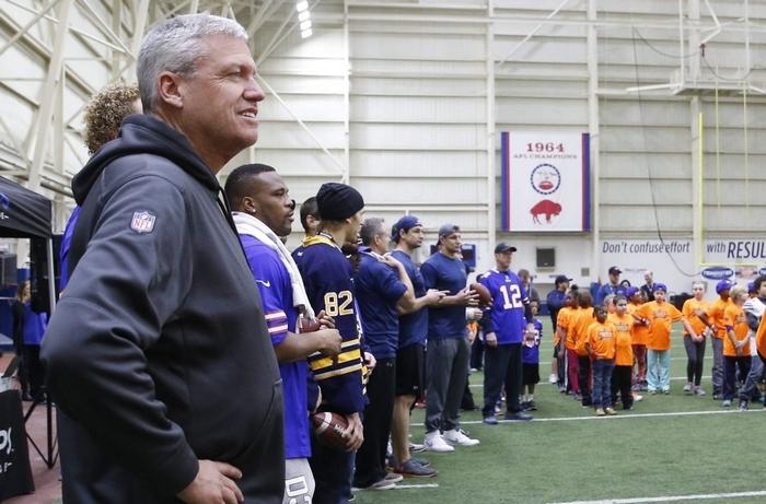 Rex Ryan said the entire organization wants a championship team. (Derek Gee/Buffalo News)