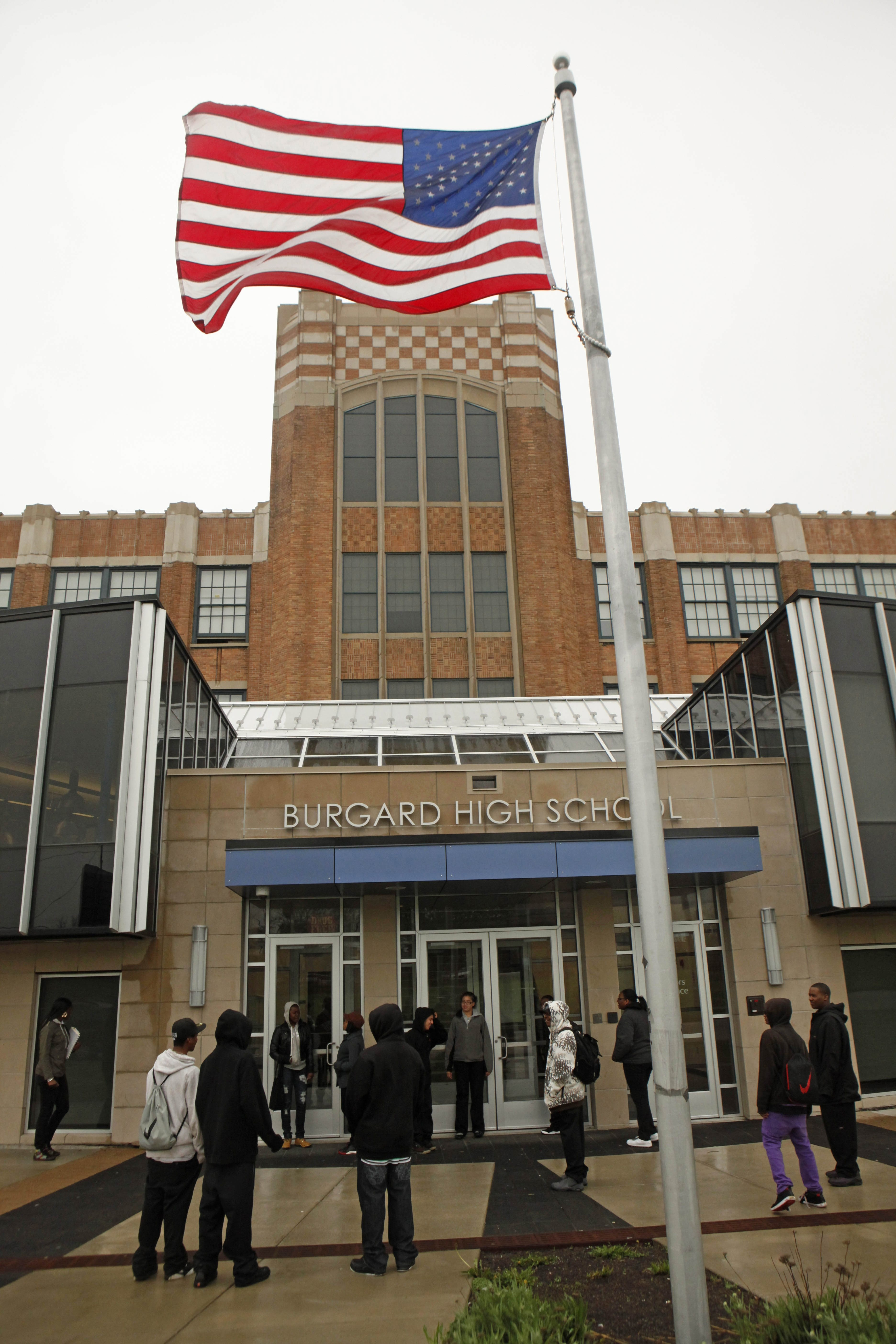 Burgard High School is one of five long-struggling Buffalo public schools that could be subject to outside control after next school year under an agreement reached between Gov. Andrew M. Cuomo's office and the State Legislature.