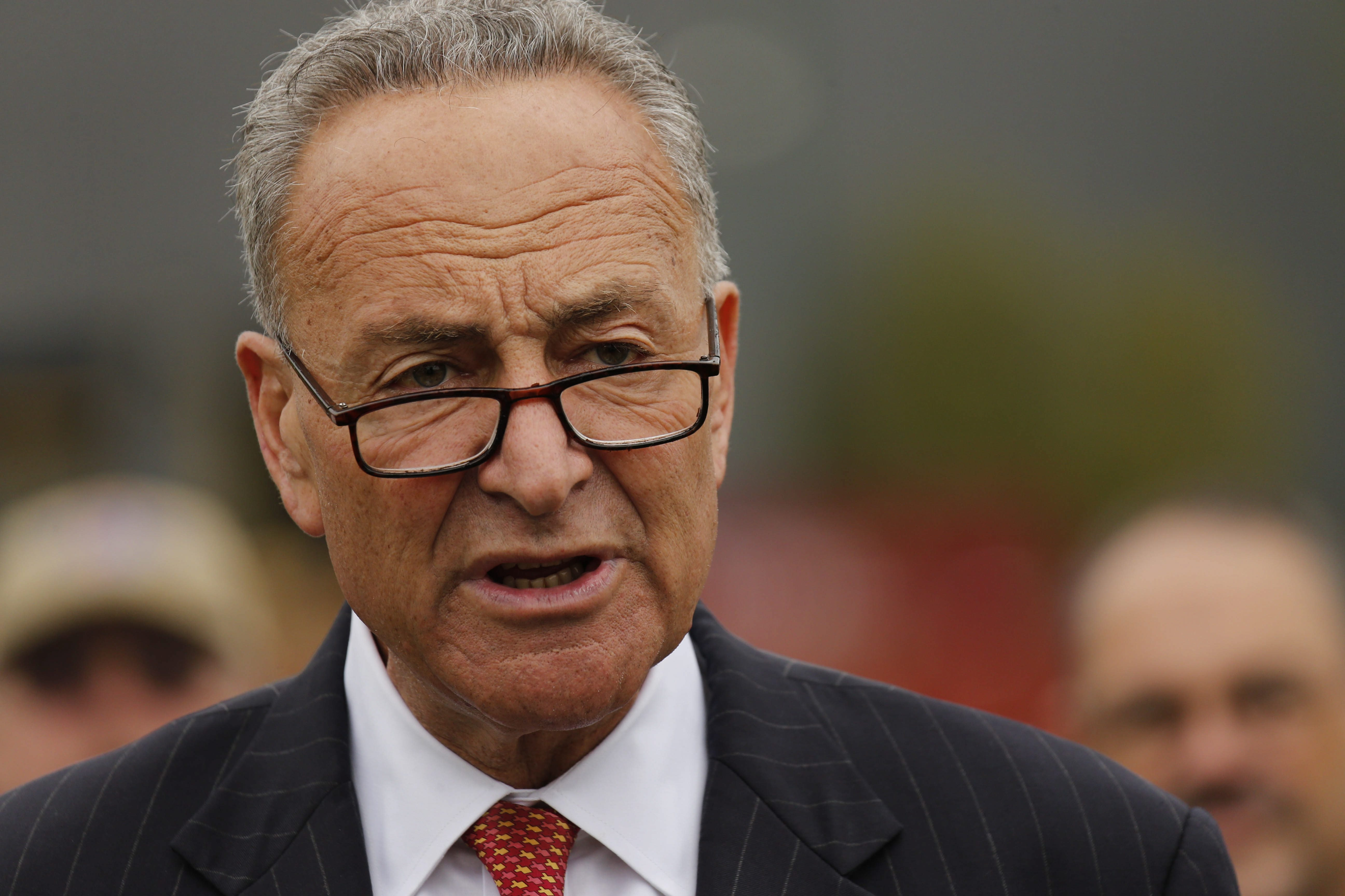 Charles E. Schumer would be first New Yorker to hold top Senate job.