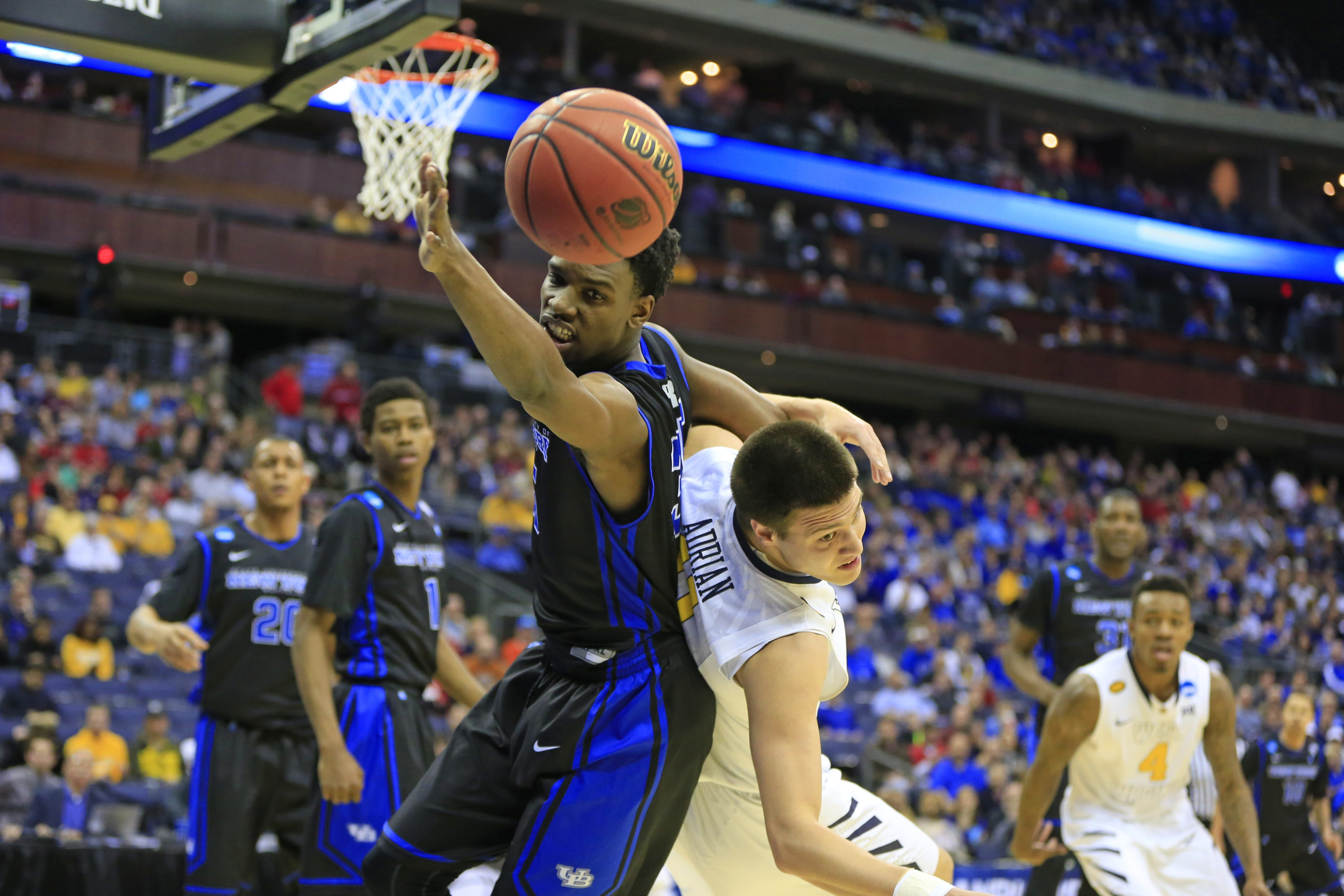 Senior Xavier Ford and UB found victory a hair beyond their fingertips in Friday's Midwest Regional loss to West Virginia.