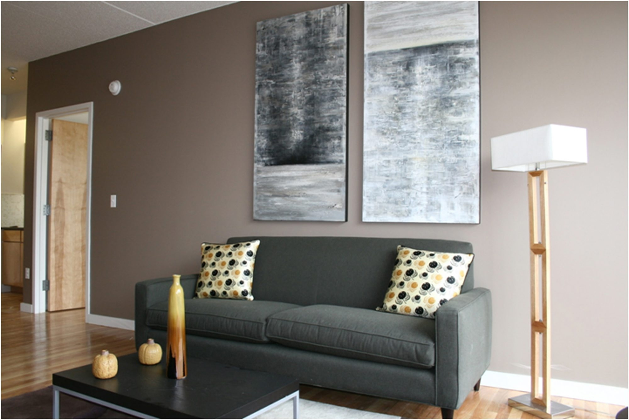 Paint is an easy way to update your room, even if you choose to add color to just one accent wall to save money.