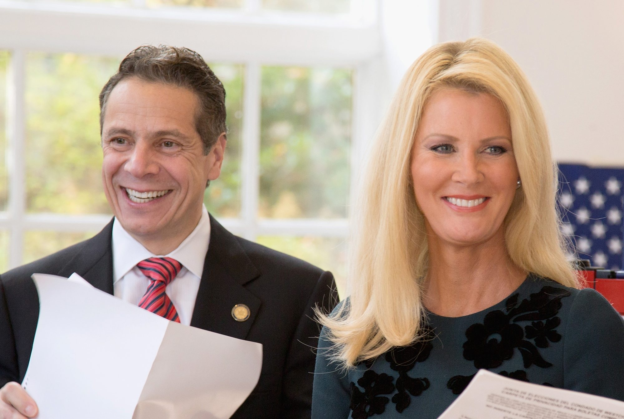 Republican attempts to make an issue of Gov. Andrew Cuomo domestic partner, television personality Sandra Lee, are an attempt to block ethics reform. (Getty Images file photo)
