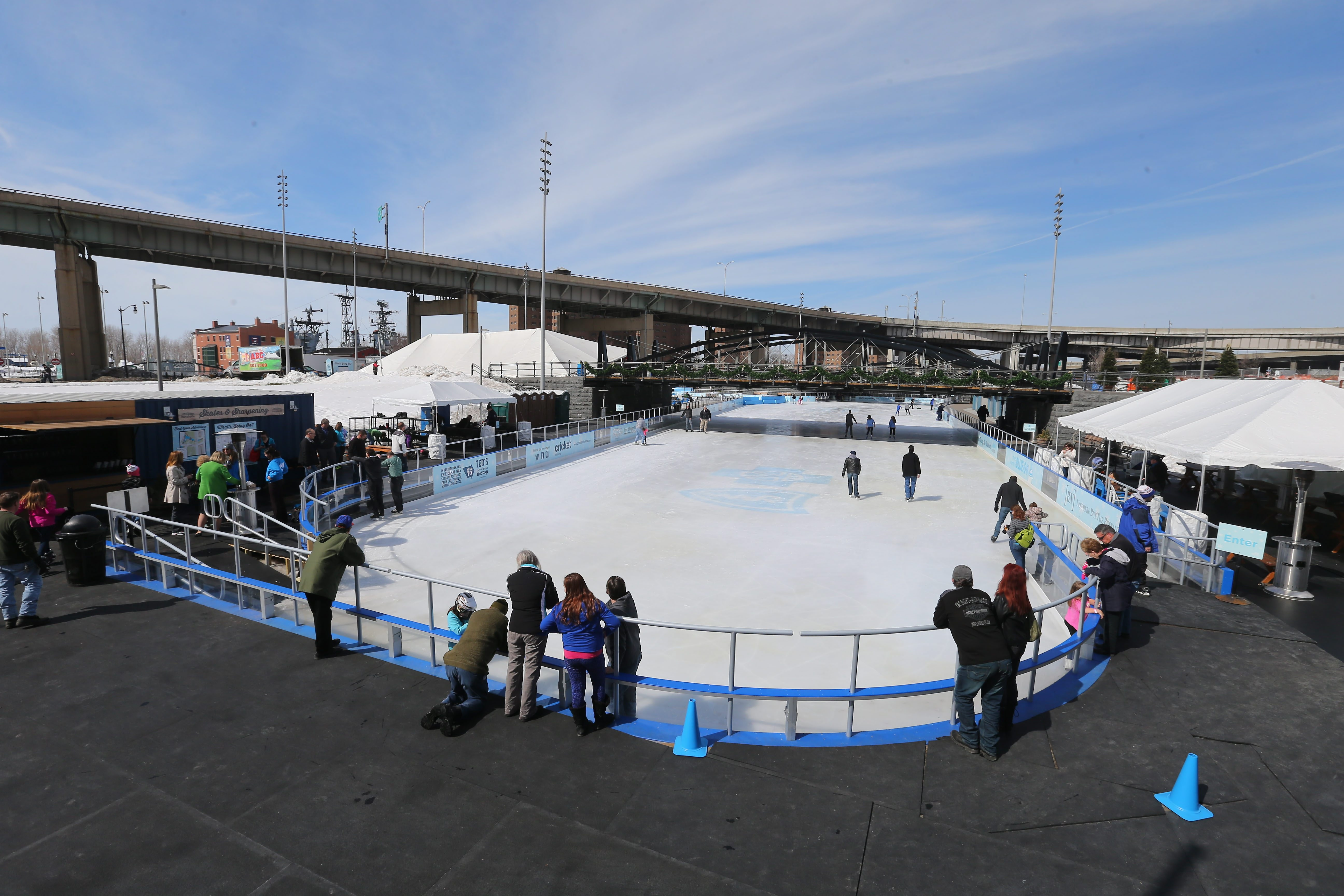 In its debut season, the Ice at Canalside was far more successful than it was anticipated to be. (Mark Mulville/News file photo)
