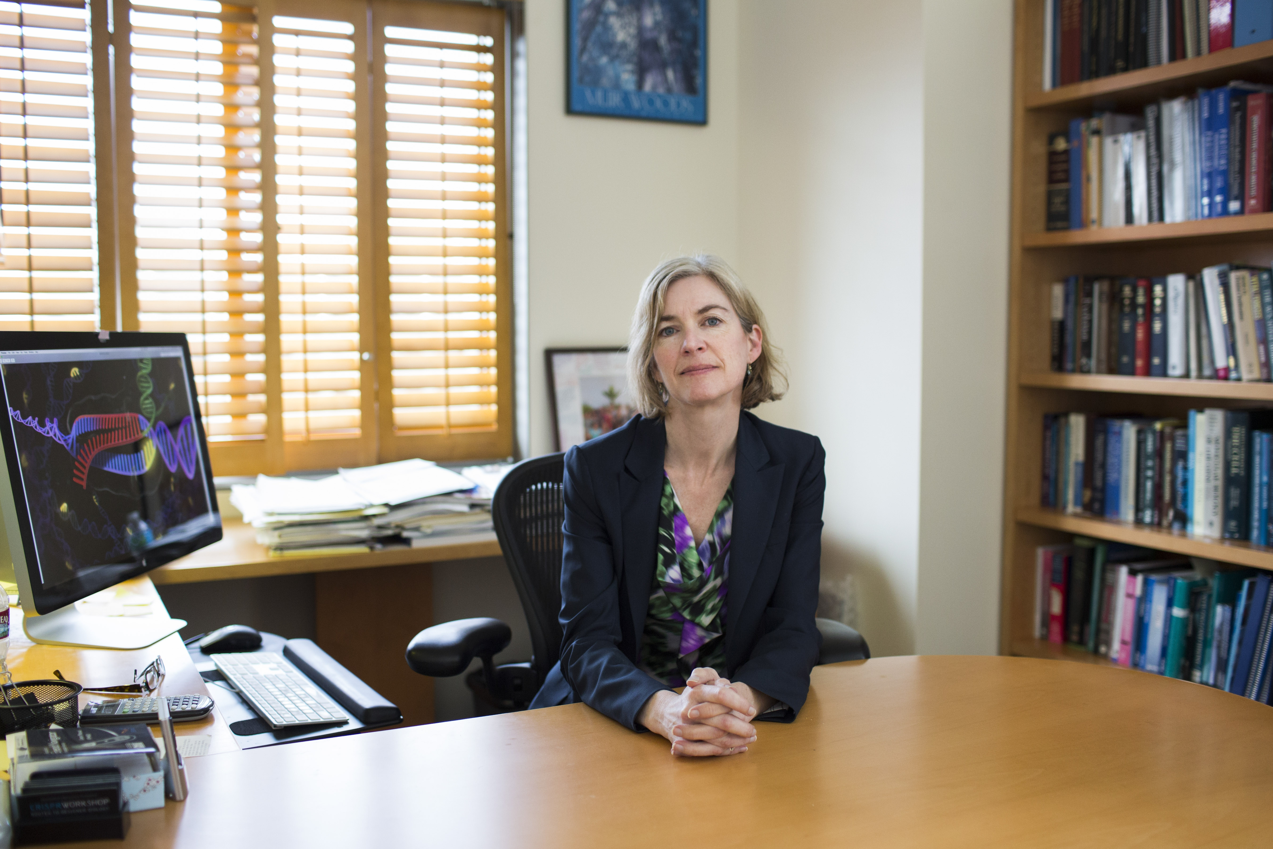 Jennifer Doudna, a genetics researcher who helped develop the genome editing technique, urges controls over its use. (New York Times)