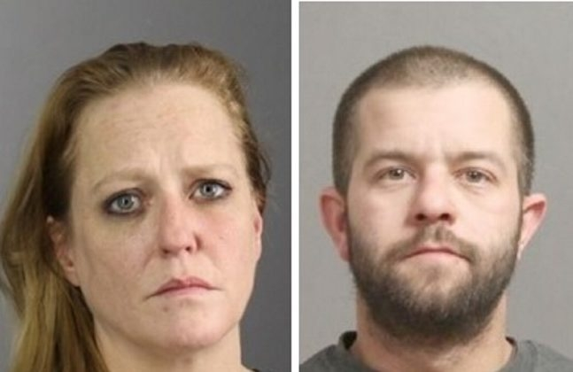 Jennifer Carrigan and Timothy Homa were charged by Erie County Sheriff's narcotics investigators. (Photos provided by Erie County Sheriff's office)
