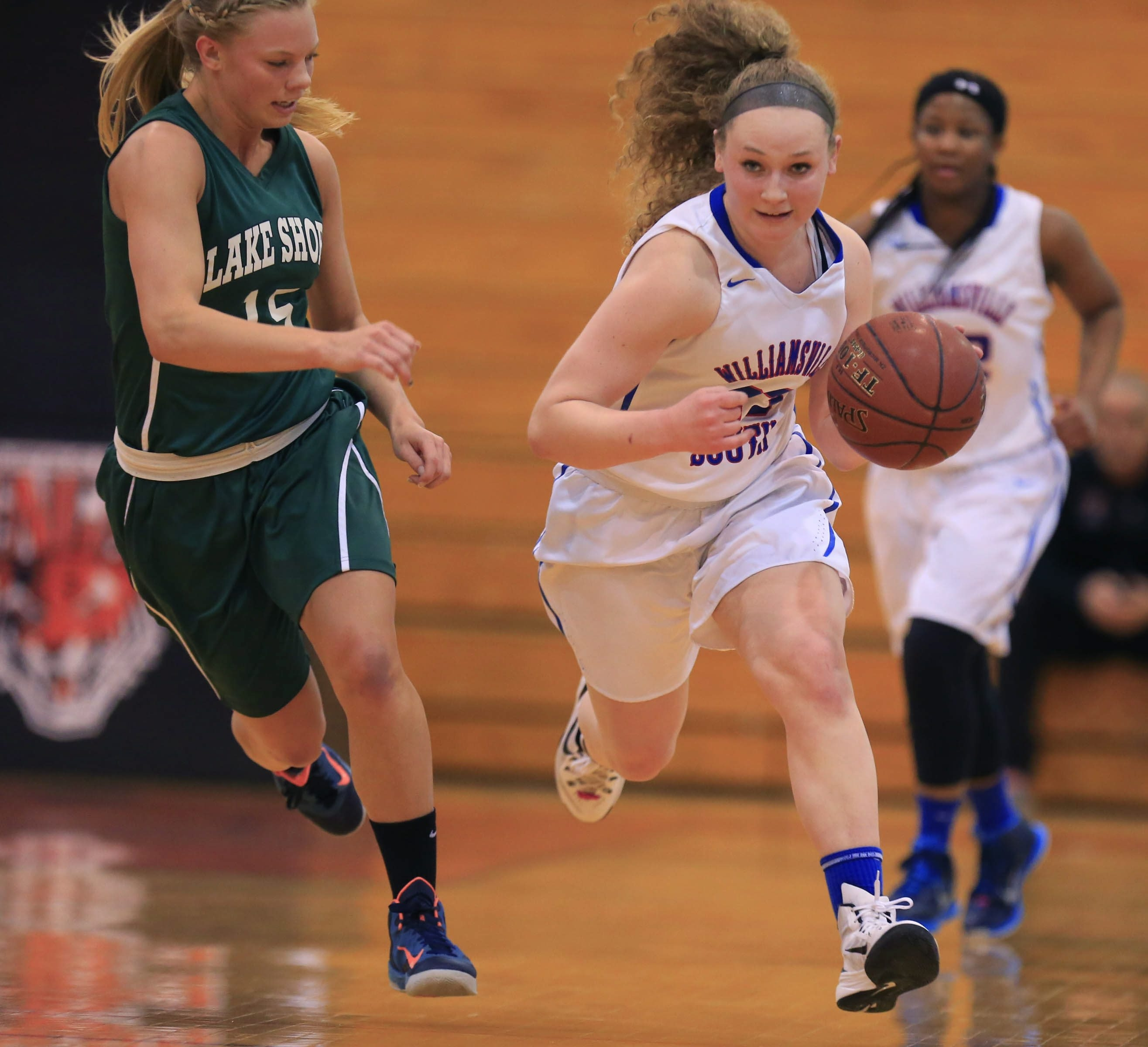 Williamsville South's Emily Smith and the rest of the Billies are aiming for a state title in Class A, which would be only the second one for a Section VI team.