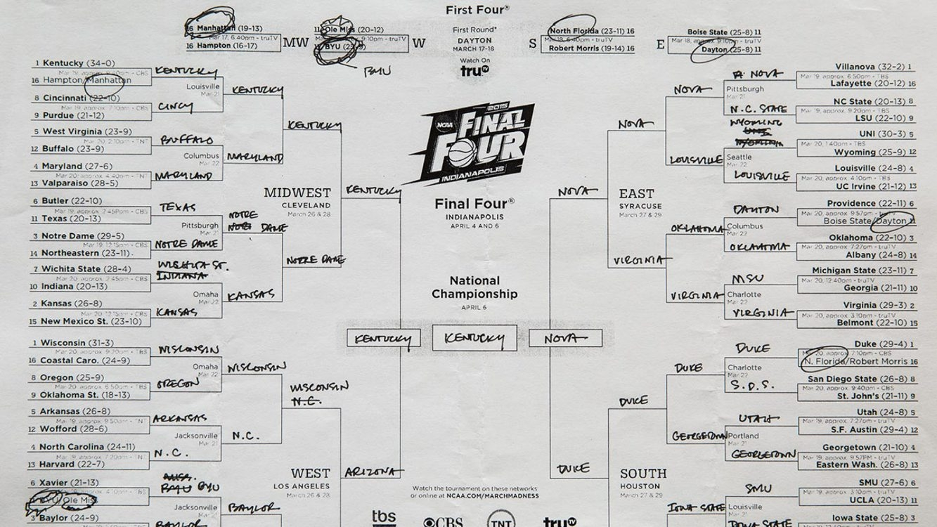 A look at some of President Obama's NCAA tourney picks.