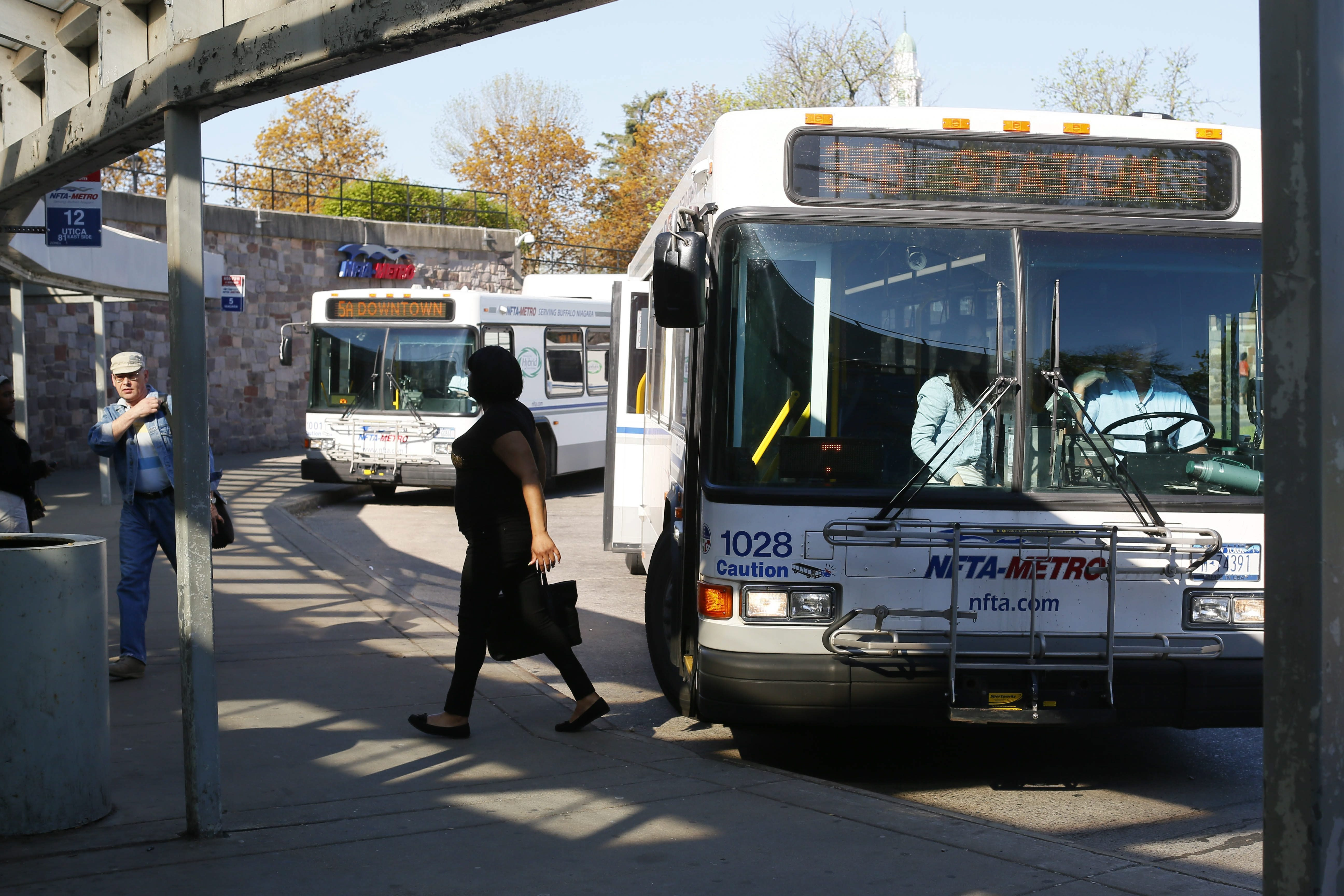 Transferring from the bus to Metro Rail at UB's South Campus, where the rail ends, can be tough and time consuming.
