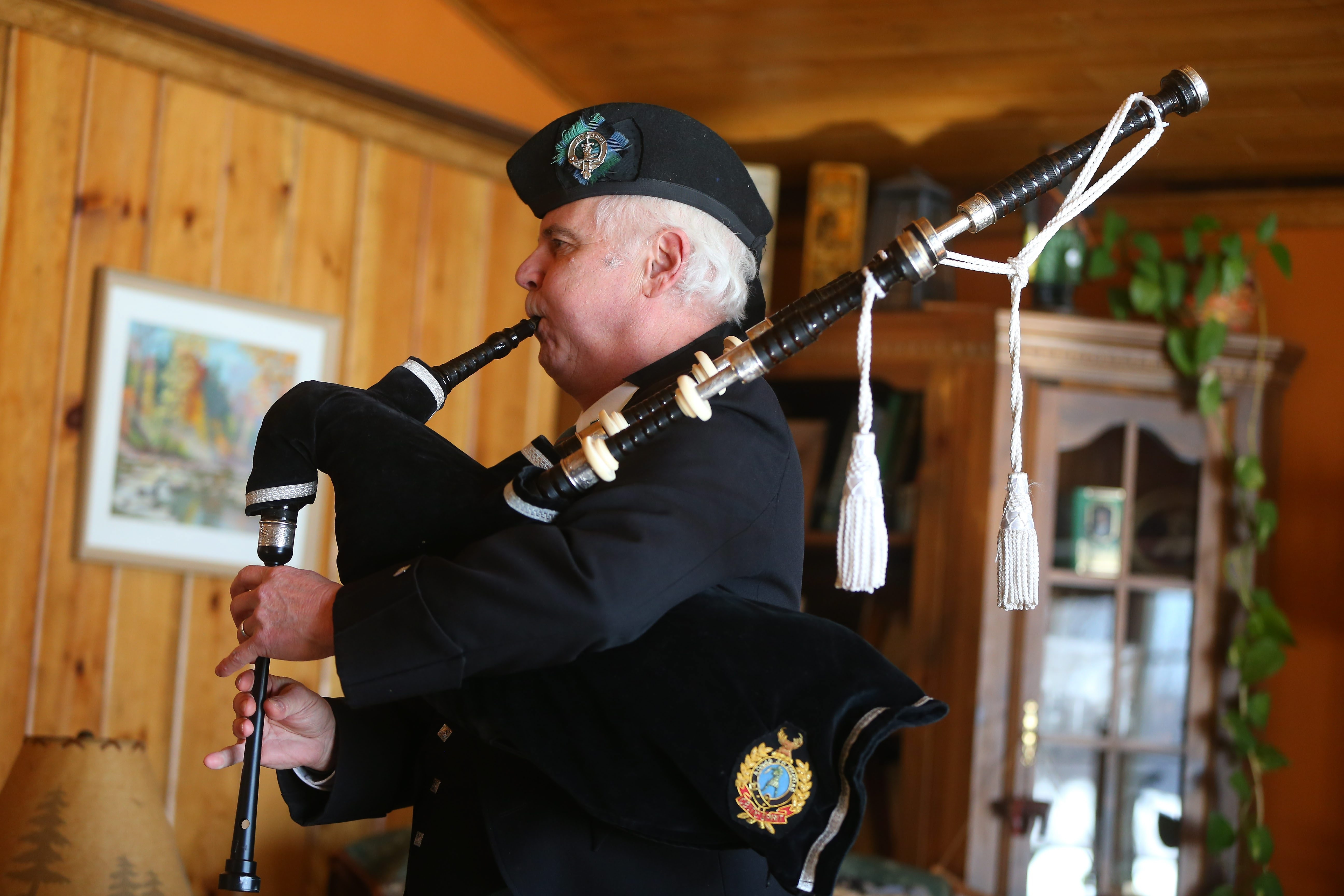 Joseph Baschnagel will be playing as usual at noon Tuesday when the Lockport chapter of the Ancient Order of Hibernians holds its annual St. Patrick's Day Mass in All Saints Catholic Church.