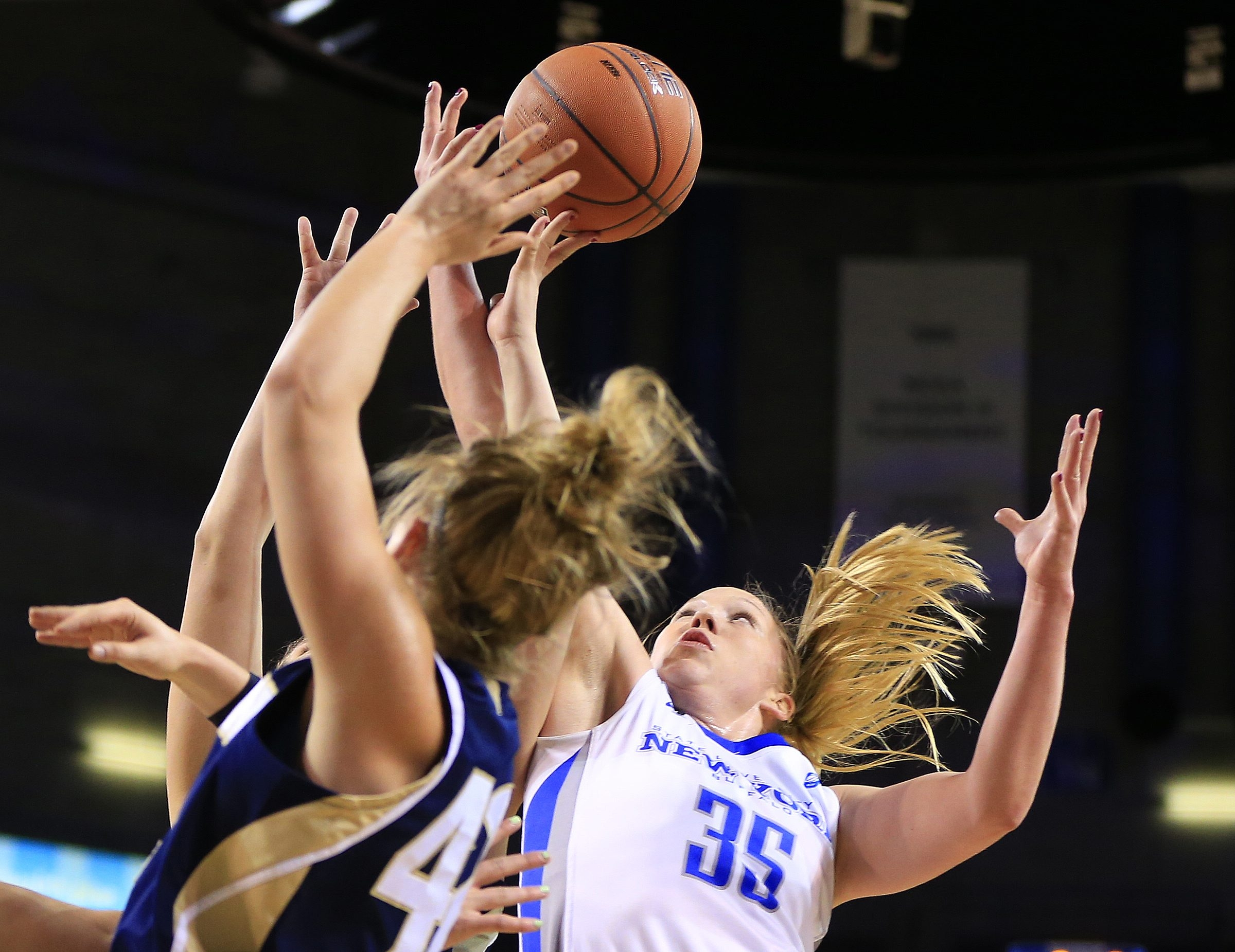 Mackenzie Loesing is averaging 13.7 points and 3.5 rebounds for Buffalo. She leads the team with 40 made three-pointers this season.