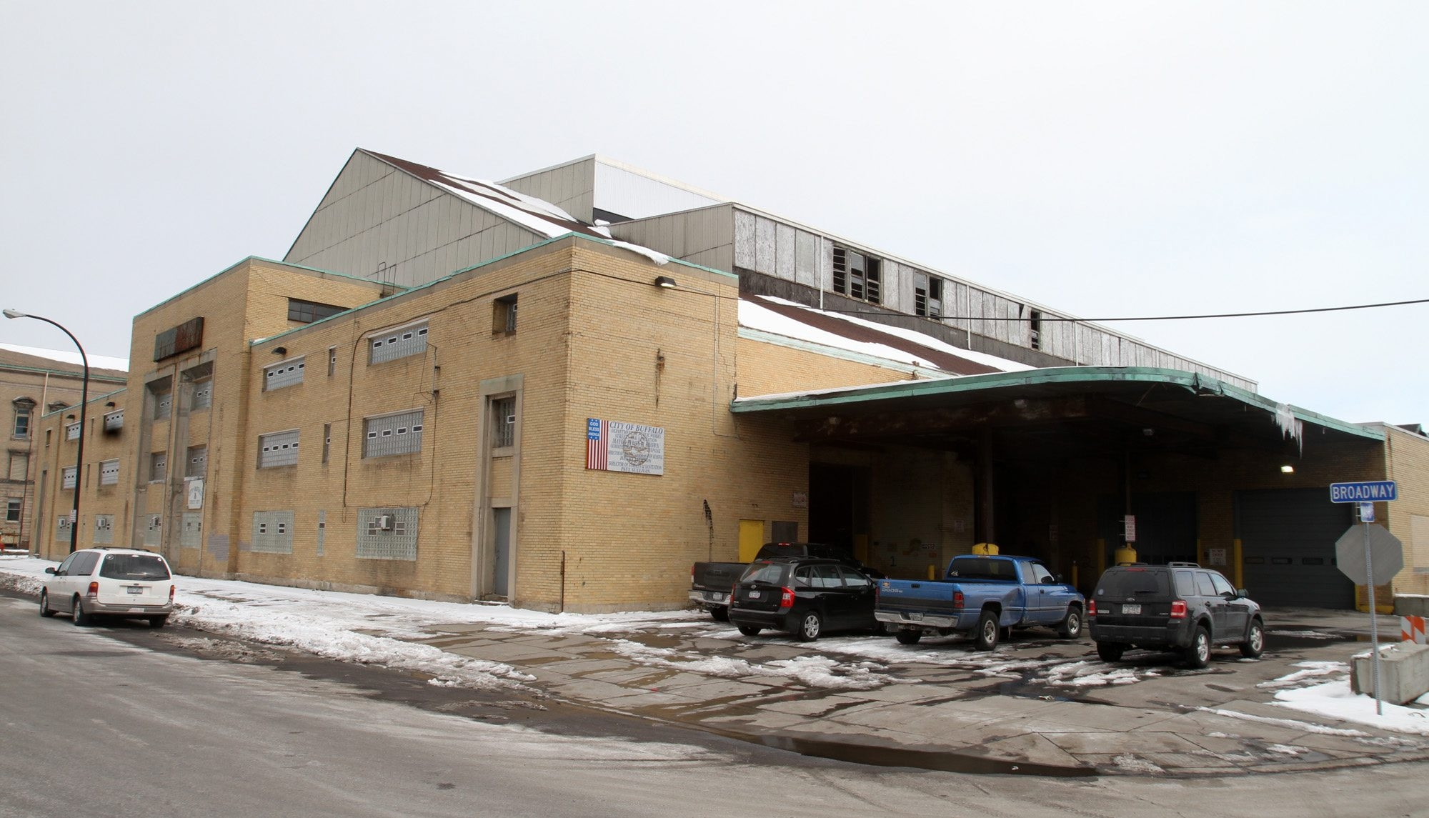 There is likely a higher use than a public works garage for the property occupied by the Broadway barns. (John Hickey/Buffalo News file photo)