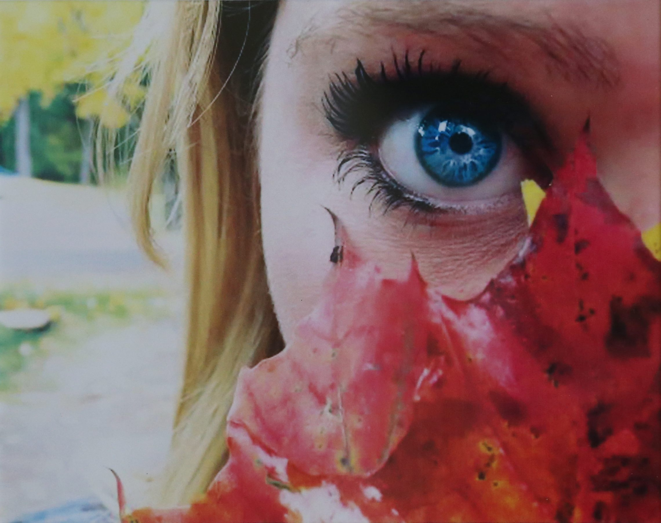 "Best Color Award: ""Autumn Eyes,"" Brooke Heltman, Depew High School"