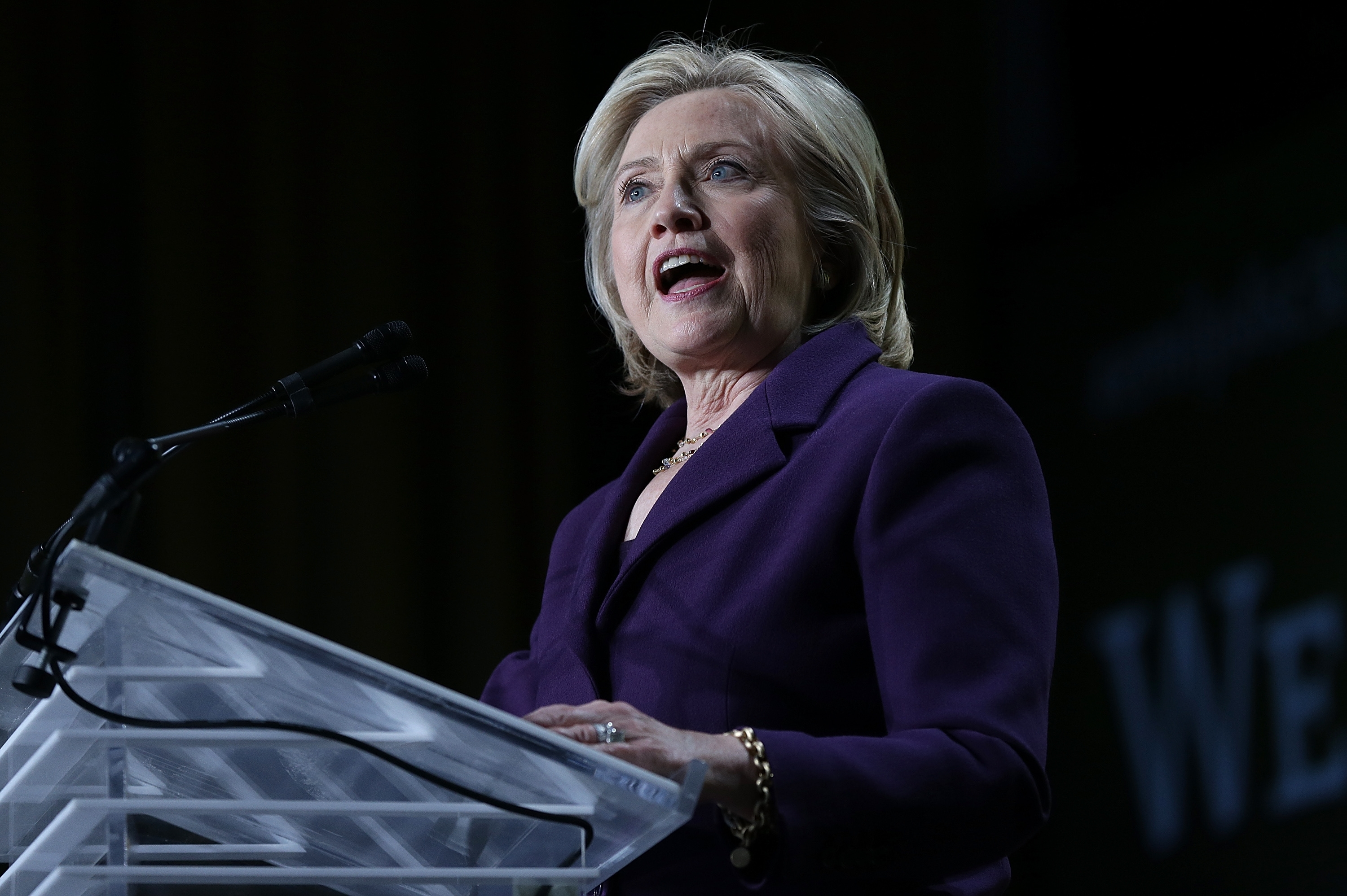 Hillary Clinton should not have used her personal email account to conduct official business while she was secretary of state. (Getty Images)