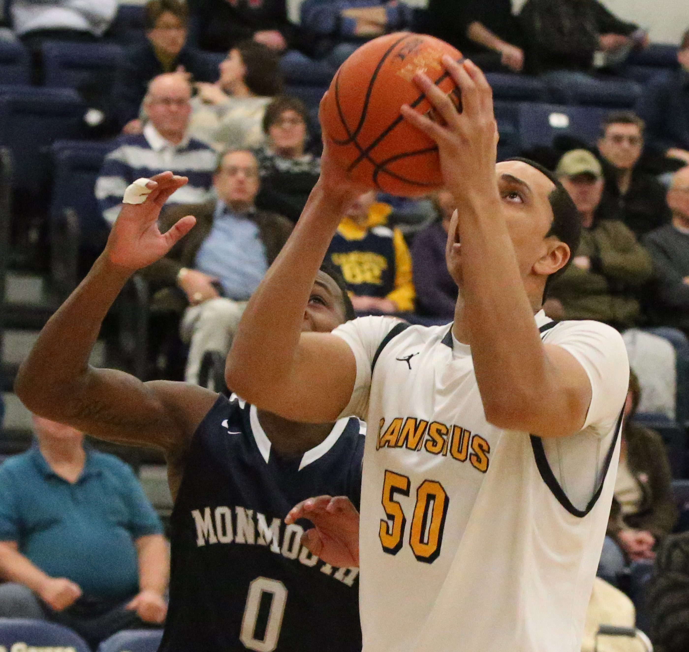 Josiah Heath and Canisius have lost twice to Monmouth this season by a combined nine points. The third meeting is Saturday.