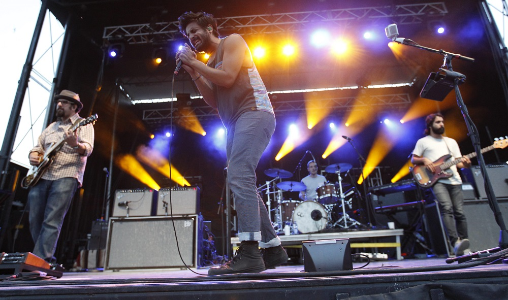 Young Giant, which performed at the Outer Harbor last July, will headline UB Springfest in May. (Sharon Cantillon/Buffalo News file photo)