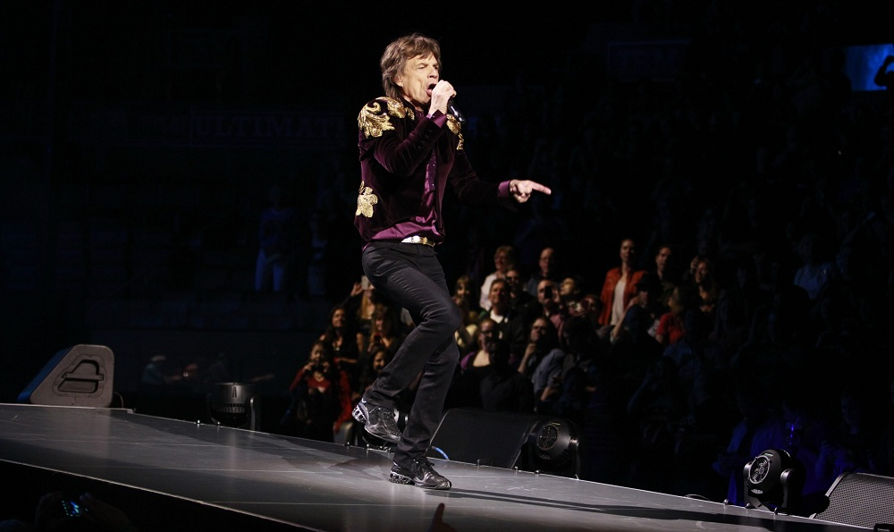 Mick Jagger will make his return to Western New York after almost a 20-year hiatus. He's pictured above performing in Toronto in 2013. (Harry Scull Jr./Buffalo News file photo)