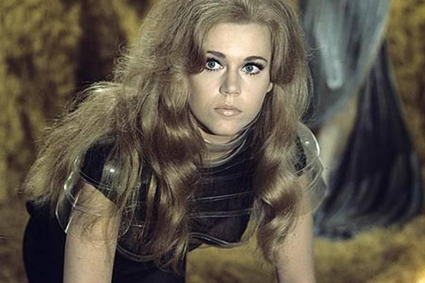 Jane Fonda stars in 'Barbarella.'