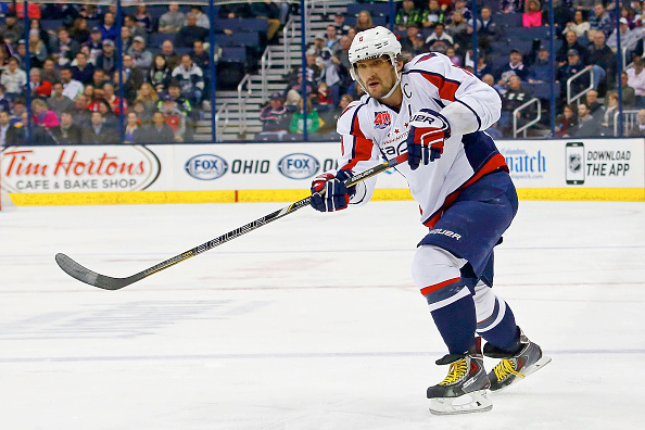 Alex Ovechkin has 23 goals and 38 points in 35 career games against the Sabres (Getty Images).