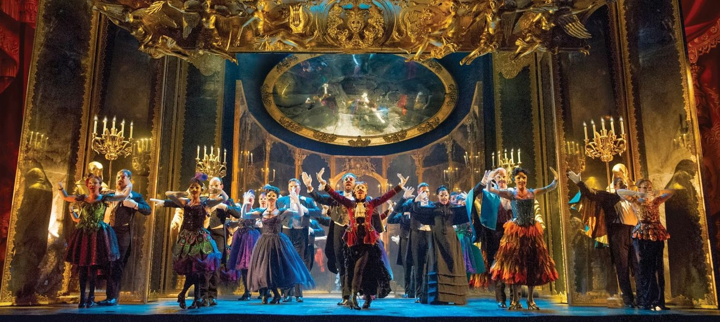 The full cast of 'Phantom of the Opera,' which is on tour now at Shea's.