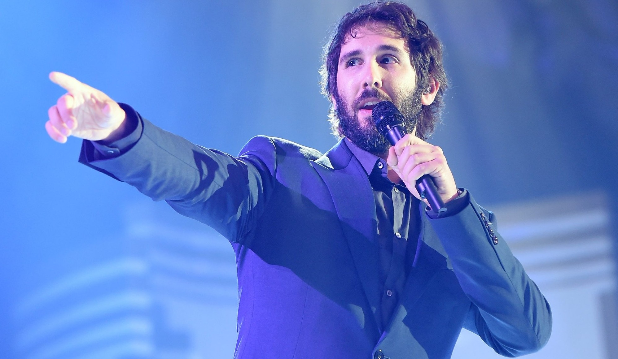 Josh Groban will perform Oct. 7 in Shea's Performing Arts Center. (Getty Images)