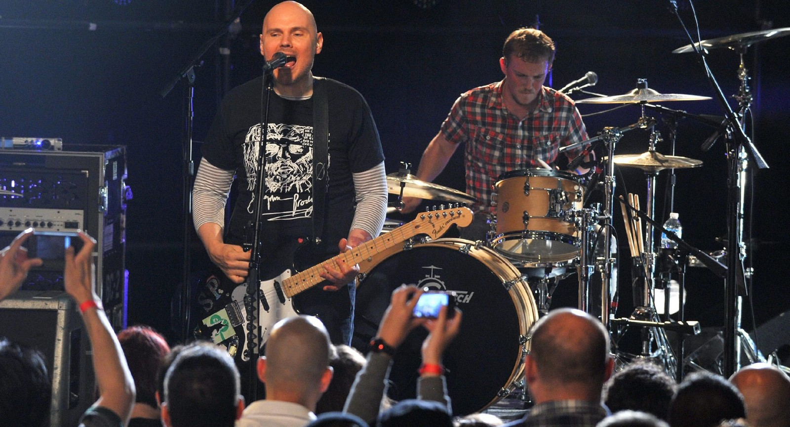 Smashing Pumpkins will be here in June. (Getty Images)