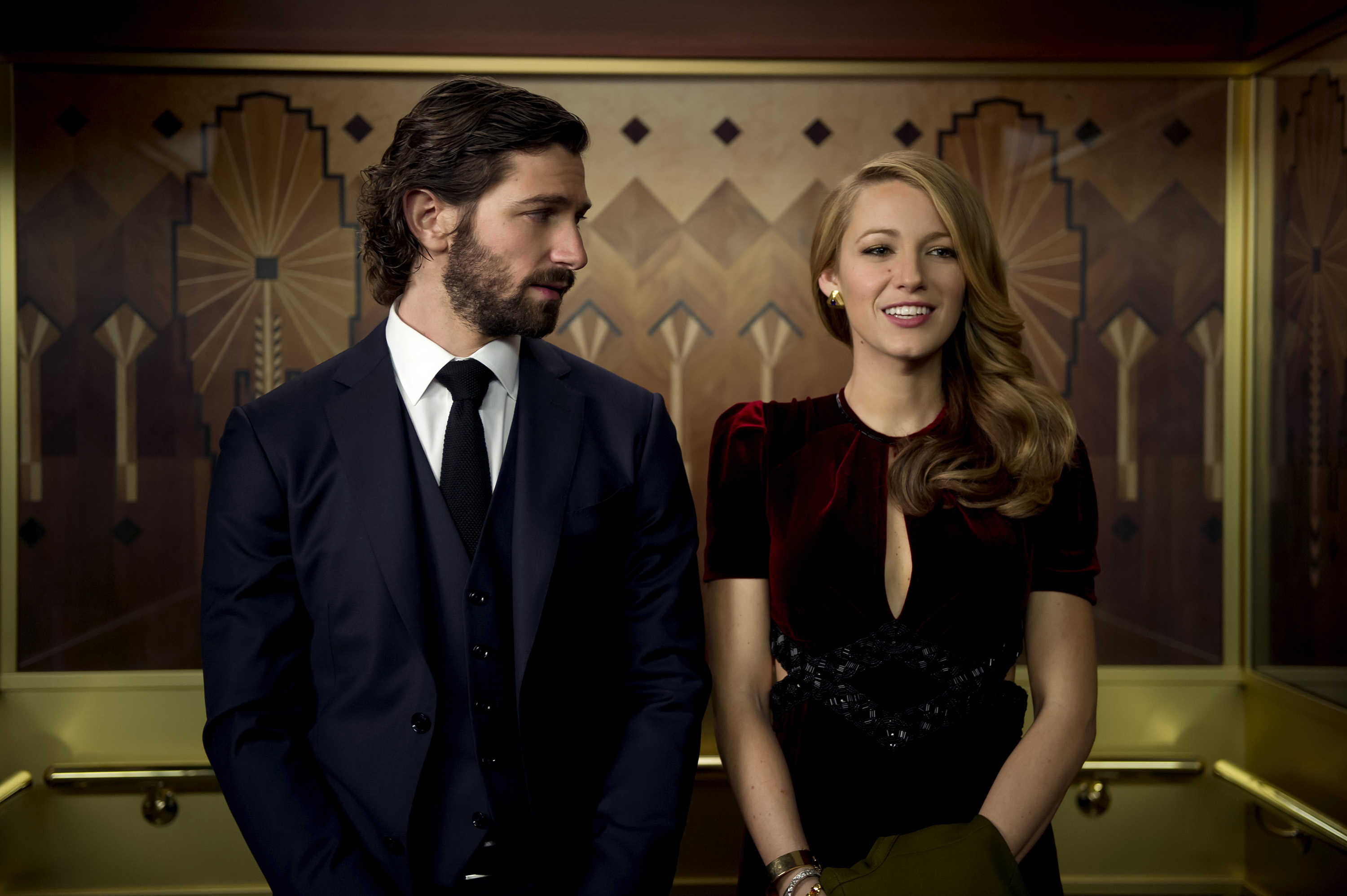 """Michiel Huisman and Blake Lively star in the new film """"The Age of Adaline."""""""