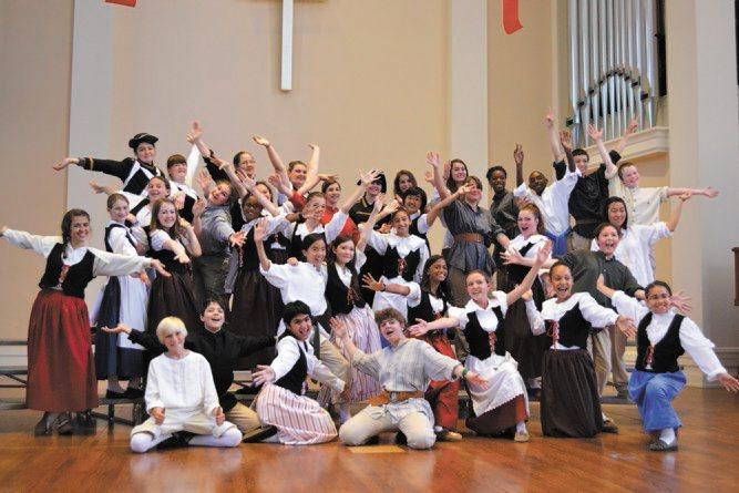 Bach Children's Chorus of Toronto performs Saturday.