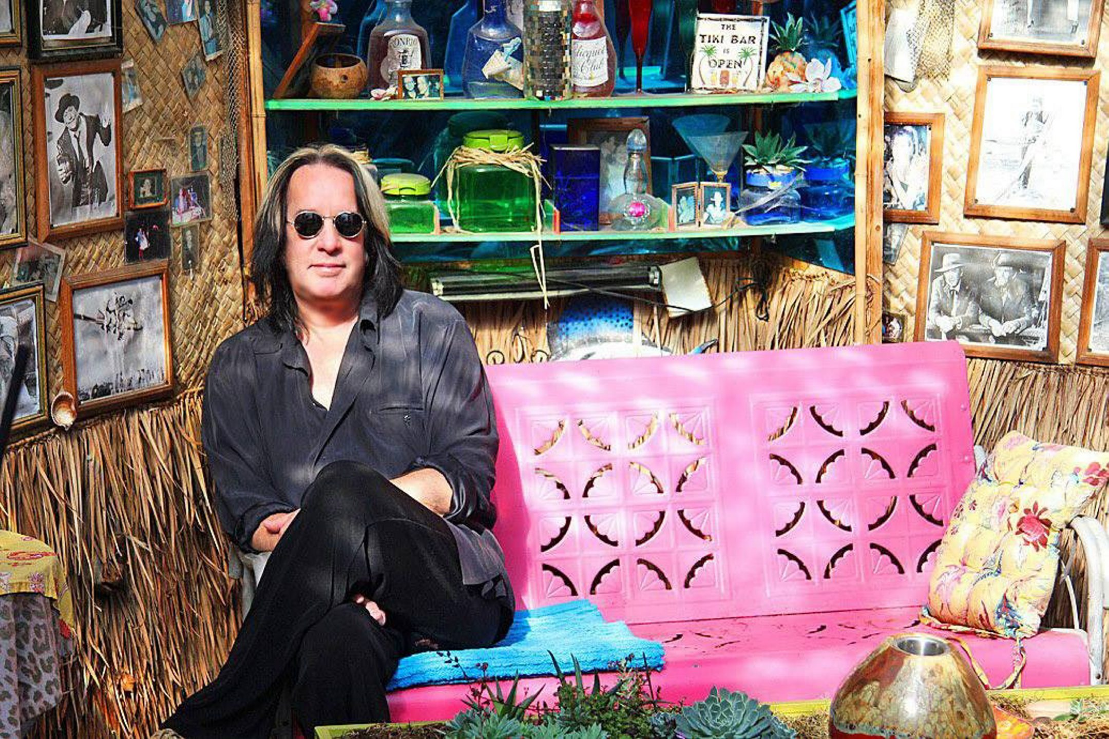 """Todd Rundgren brings his """"Global"""" tour to the Town Ballroom on Tuesday."""