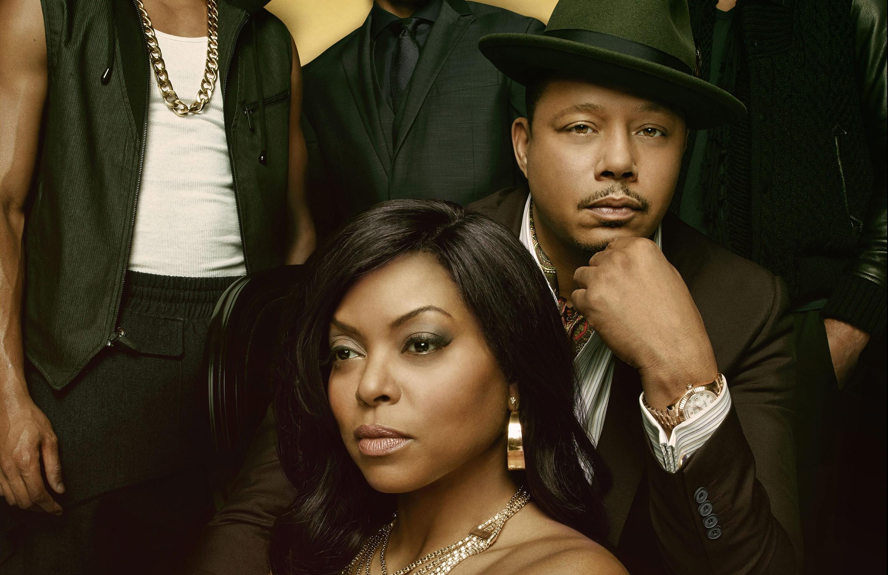 "Hip-hop soap opera: ""Empire,"" the family drama on Fox, stars clockwise from left, Bryshere Gray, Trai Byers, Jussie Smollett, Terrence Howard and Taraji P. Henson."