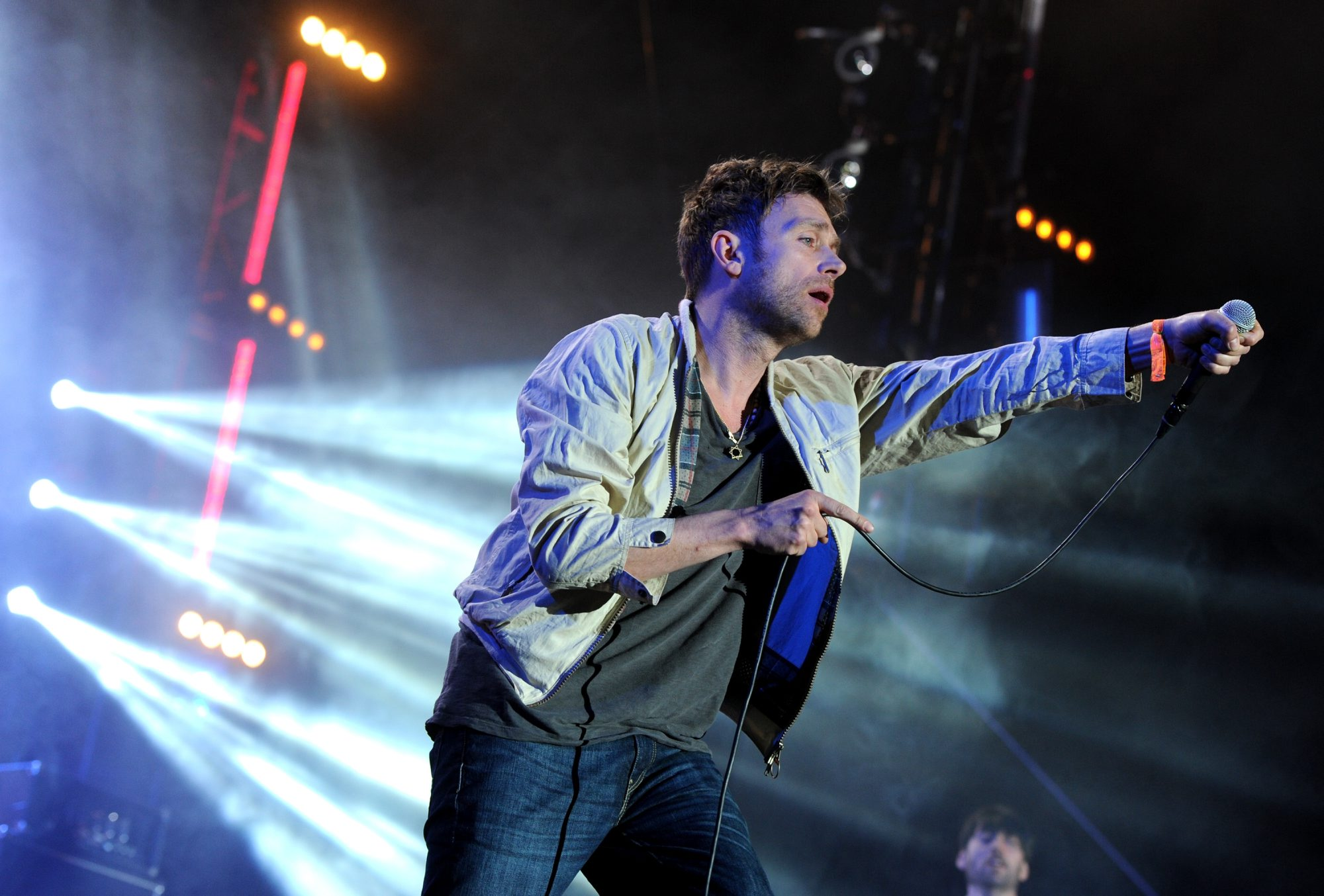 The new disc by Damon Albarn and Blur is another great album. (Getty Images)