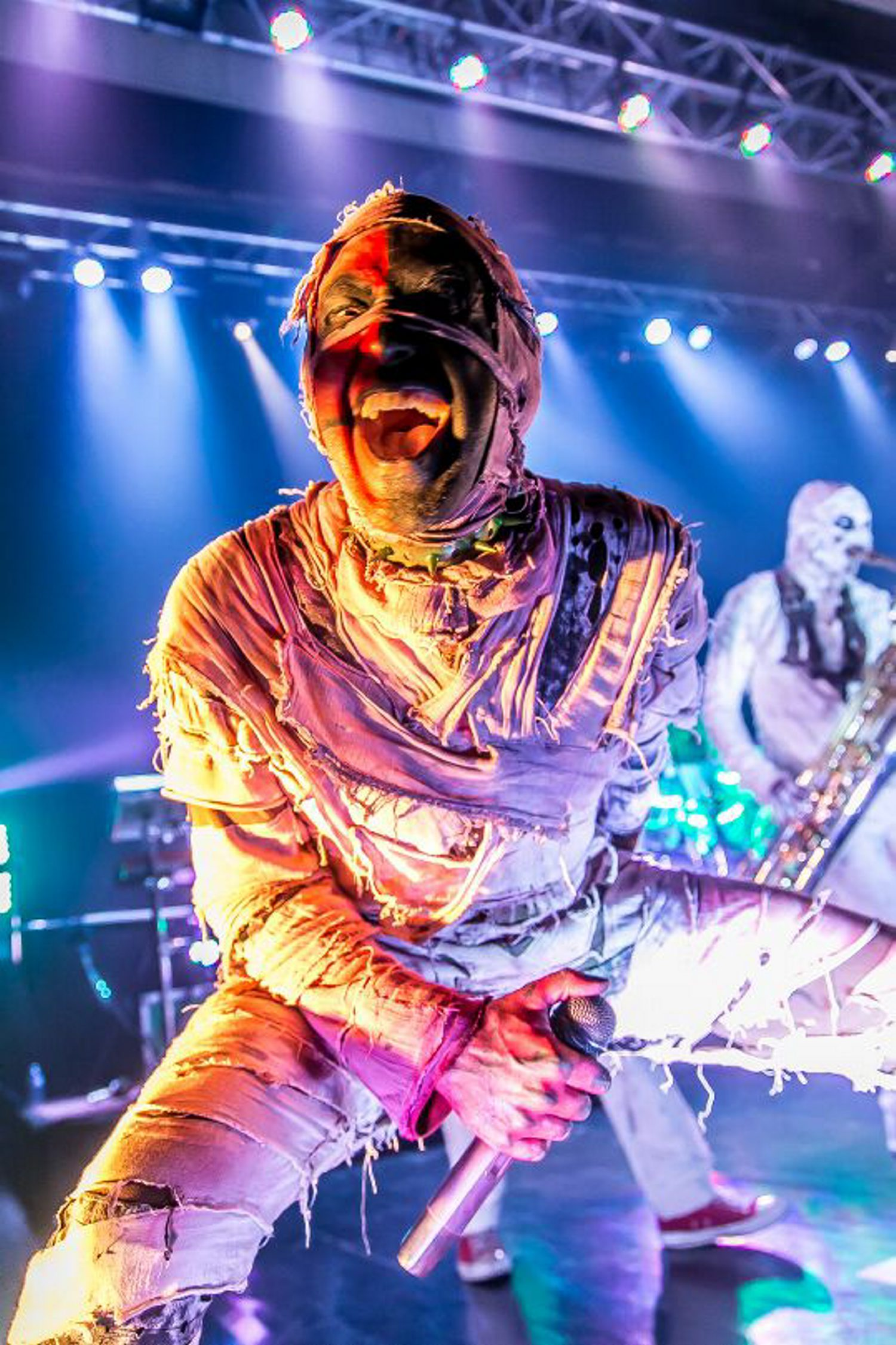 Here Come the Mummies will perform at Buffalo Iron Works on May 7.