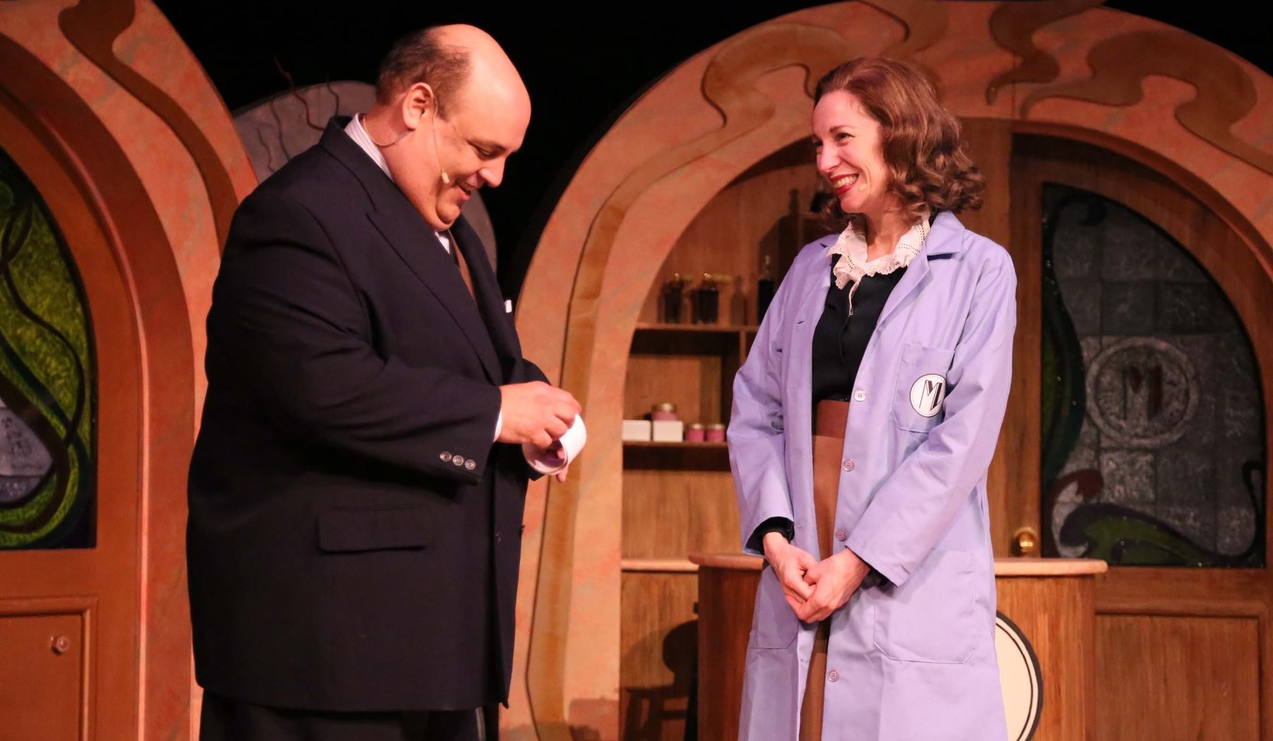 """Norm Sham and Debbie Pappas star in the Kavinoky Theatre's production of """"She Loves Me."""""""