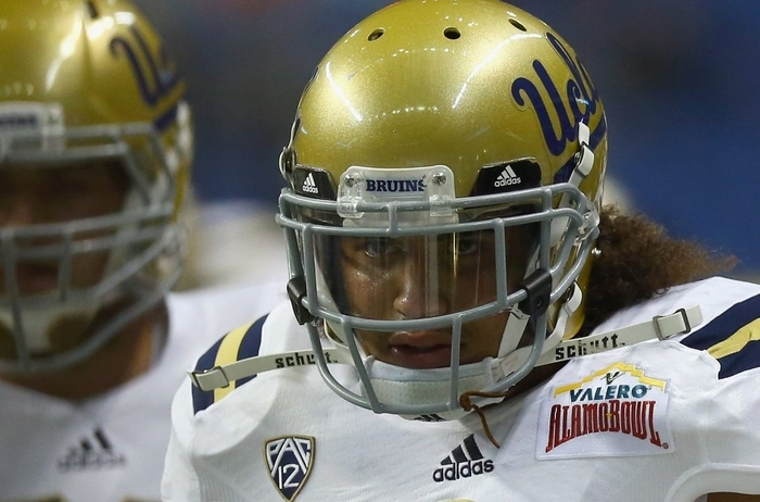 Eric Kendricks  of UCLA led  the NCAA with 101 solo tackles, with 149 overall.