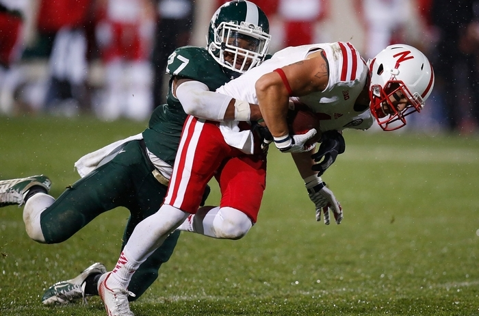 Kurtis Drummond was the Big Ten Defensive Back of the Year. (Getty Images)
