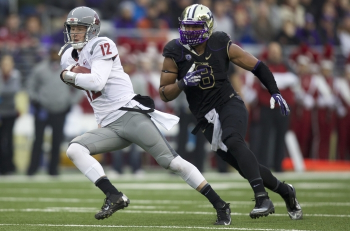 The only thing that can hold back Hau'oli Kikaha in the NFL Draft is a slow time in the 40-yard dash. (Getty Images)
