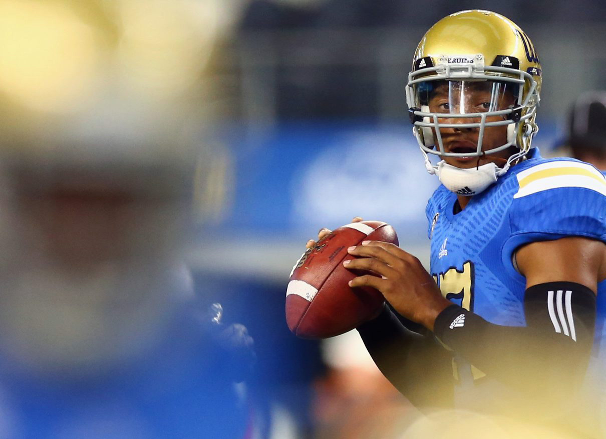 UCLA's Brett Hundley was (conveniently?) omitted by Bills GM Doug Whaley in his recent rundown of the draft's second tier of quarterbacks.