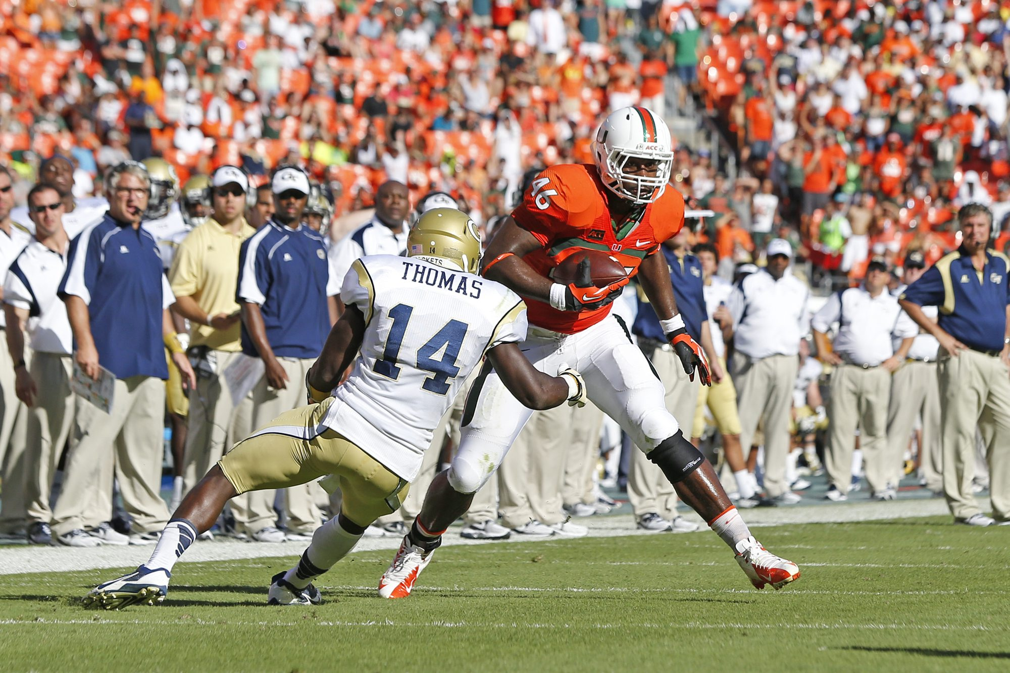 Miami Hurricanes tight end Clive Walford had his ups and downs throughout his college career but is rife with potential.